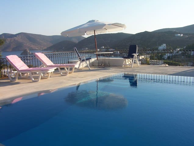 Paradise Villa on the exclusive Island of Patmos