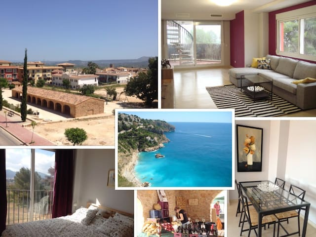 3 Bed Penthouse Apt in Costa Blanca - Jesus Pobre - Appartement
