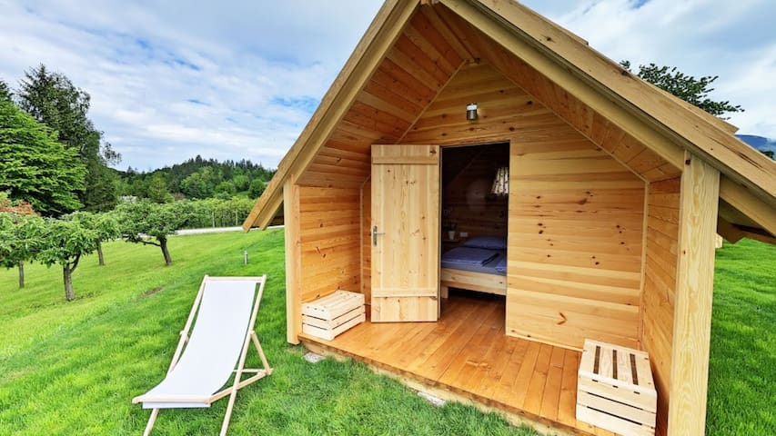 Glamping, wooden chalets - 3