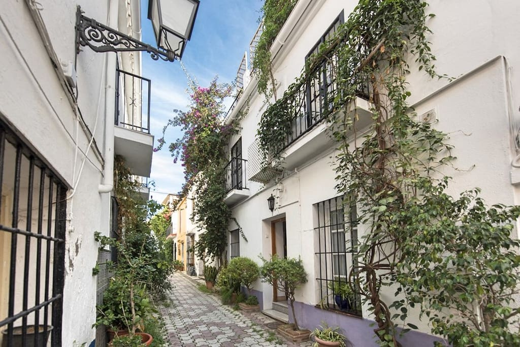Lovely Townhouse Marbella Centre