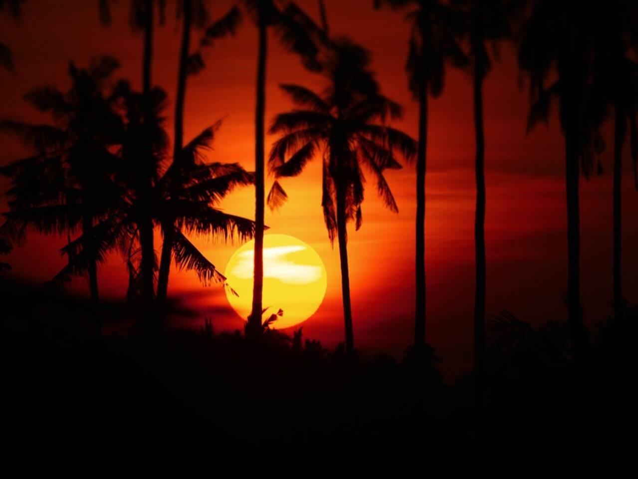 Sunrise in Balian