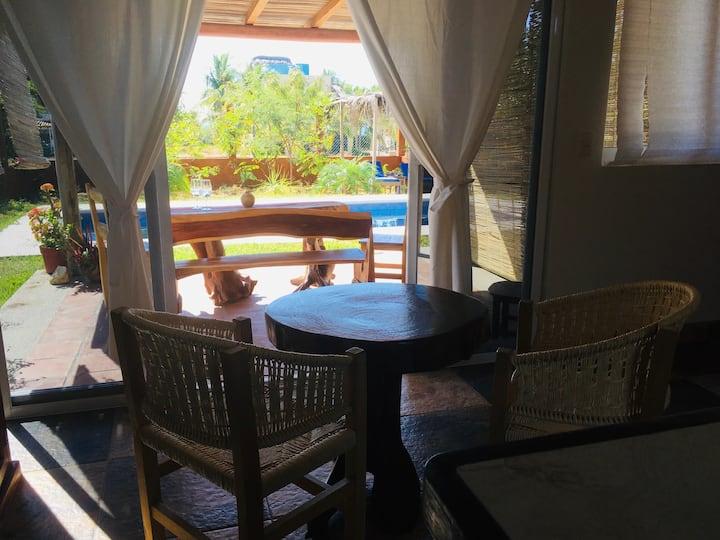 Sun filled studio in stylish Carrizalillo!