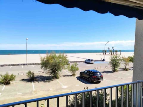 Appartement avec Balcon front de mer