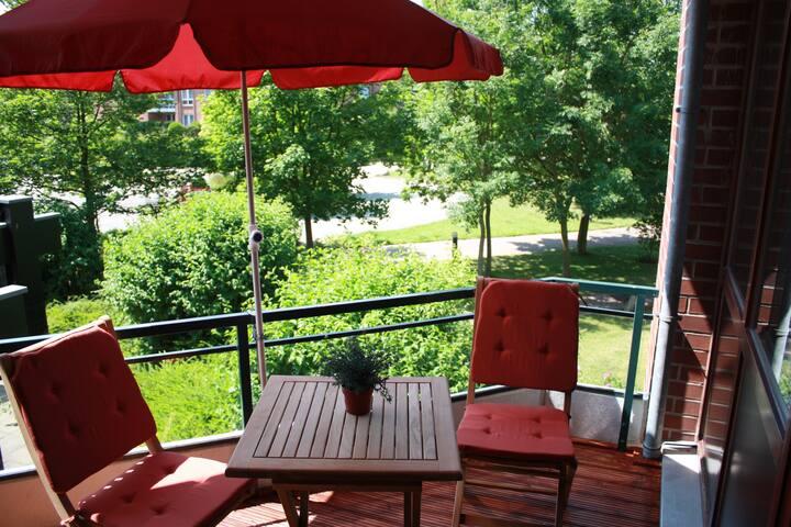 Ostsee Appartement in Travemünde mit Pool + Sauna