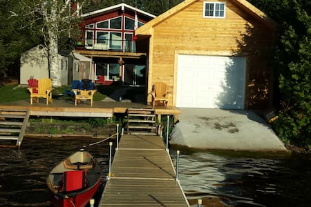 New waterfront cottage, 4 cars park - Kawartha-innsjøene