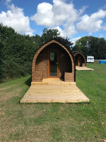 Glamping Pod in peaceful Norfolk Countryside