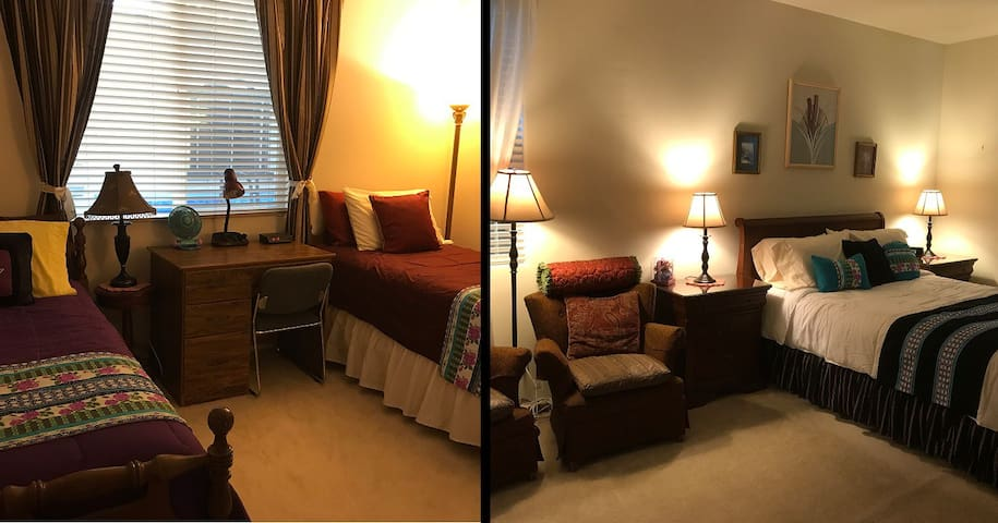 Two Spacious & Cozy Rooms