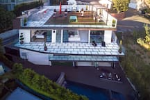 Arial Shot of the Entire Villa