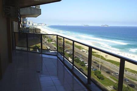 Maravilhoso apart hotel frontal mar - Rio de Janeiro