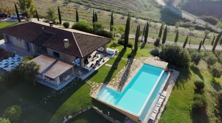 L' ARGILLOSA countryhouse villa in esclusiva