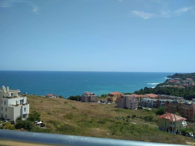 Шикарный sea view! Большая квартира с 2 спальнями