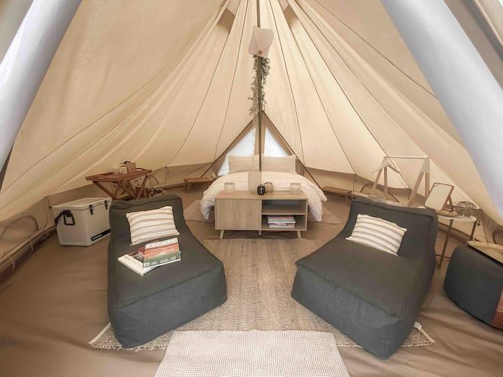 PENINSULA GLAMPING - 5M LUXE BELLE TENT
