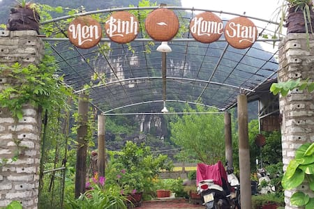 Yen Binh homestay - Two-bed room with garden view