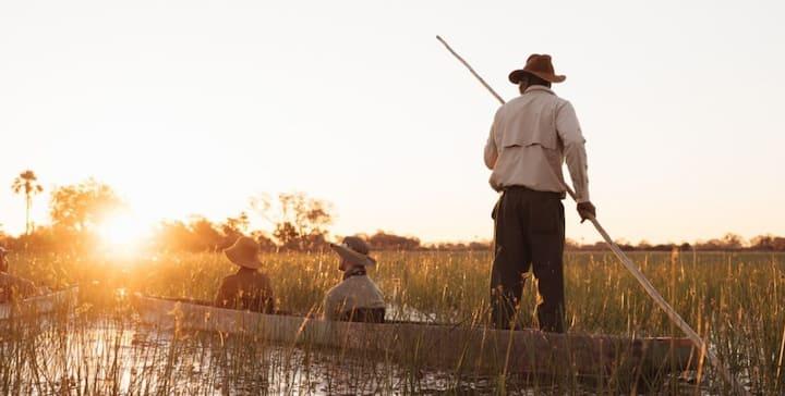 The Maluka Birding Society on the Zambezi river