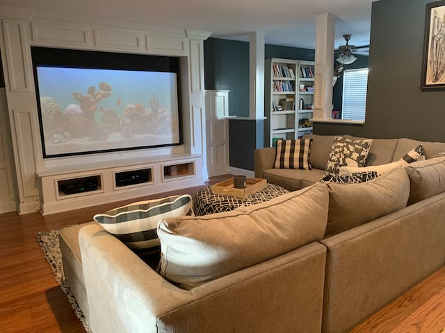 Townhome with Theater Room