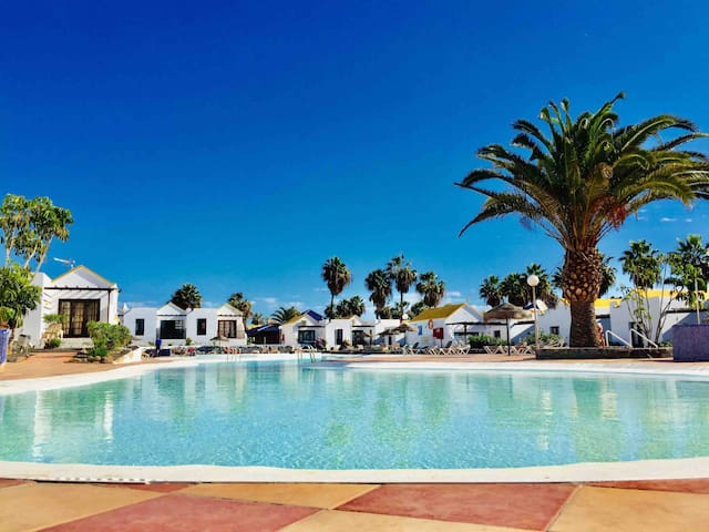 """Lila"" bungalow, enjoy Fuerteventura"