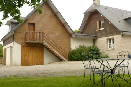 Large studio 52m2 with mezzanine, Normandy country - Le Mesnil-Amey - Departamento