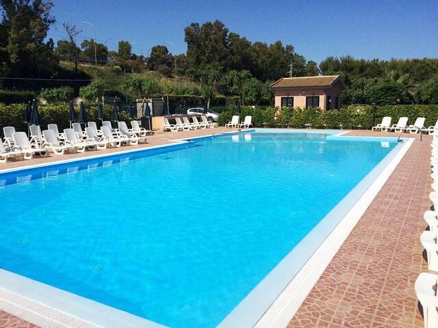 Home Beach Agave residence pool