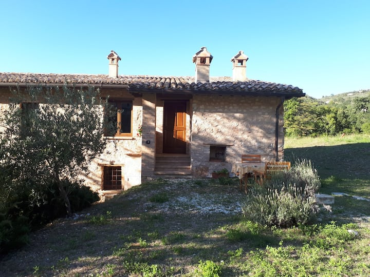 Beautiful countryside house near Spoleto