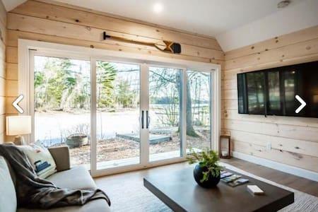 BIG SEBAGO LAKE, Modern Camp Living!