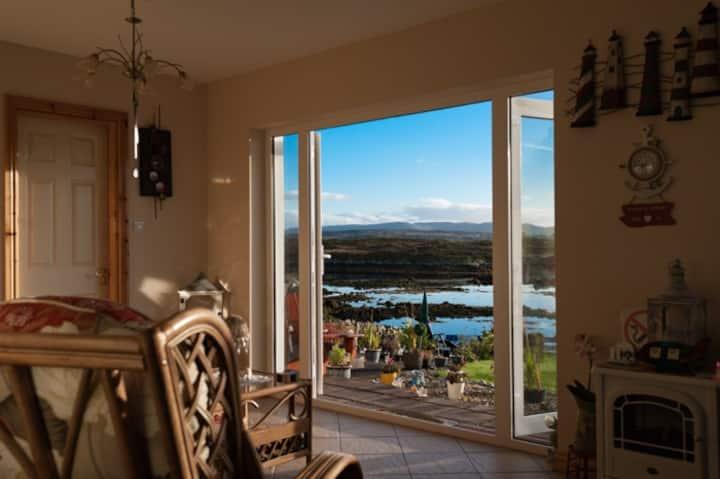 Beautiful Sea View House in Rosmuck, Connemara.