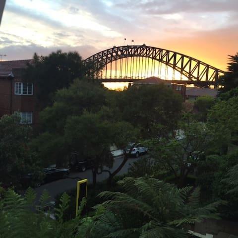 Sunset over the Bridge!