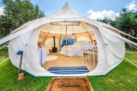 Coachella Luxury Camp Ground at Corona Yacht Club - Coachella