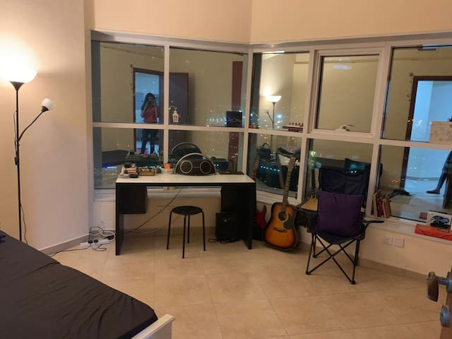 A cozy room at JLT cluster A