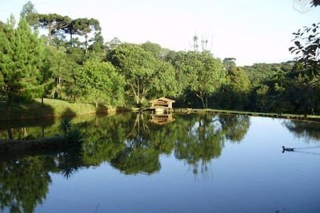Chácara para lazer - Campo Largo - Cabin