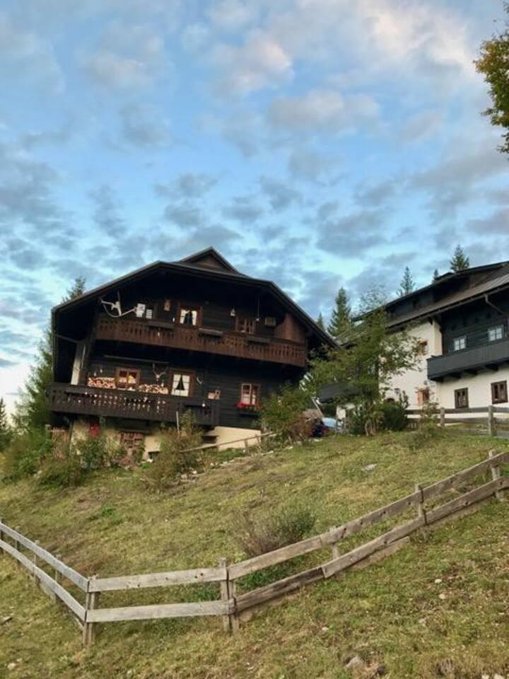 Apartament Sonnleitn/Nassfeld on ski slopes