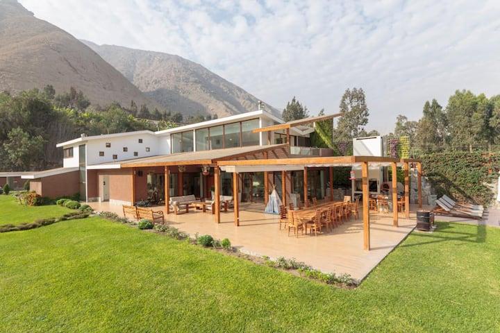 Casa Campo de Lujo en Chontay Cieneguilla