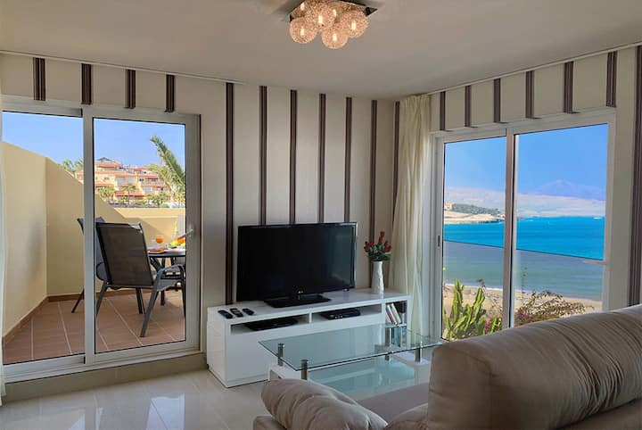 Fuerte Sol 504 , sea view and next to the beach!