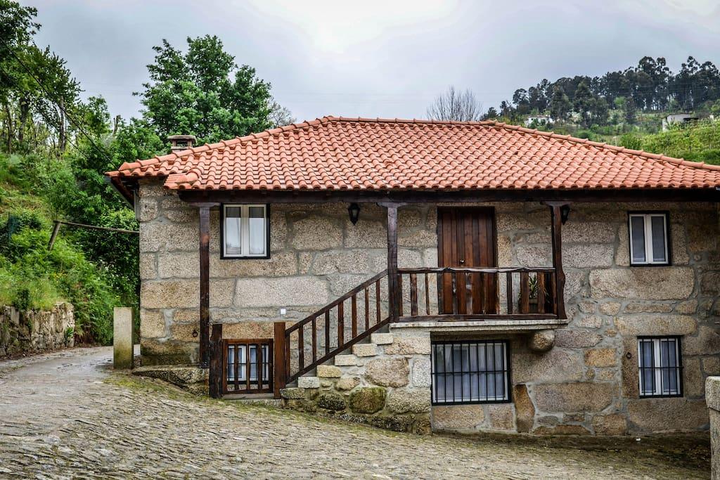 Casa da Cavalariça (entrada principal).