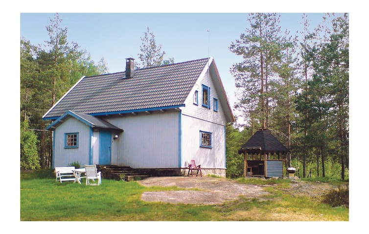 Holiday cottage with 3 bedrooms on 80m² in Vatnestrøm