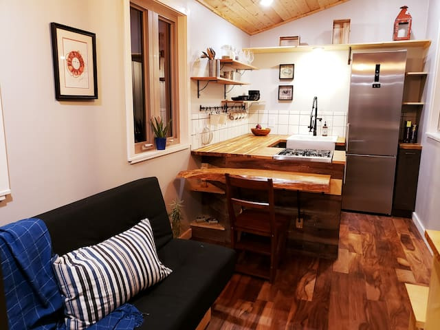 NEW! Tiny Home on 10 wooded acres near Teanaway