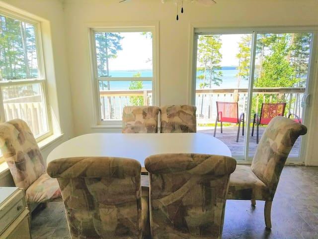 Large House on Gouldsboro Bay, stunning views!