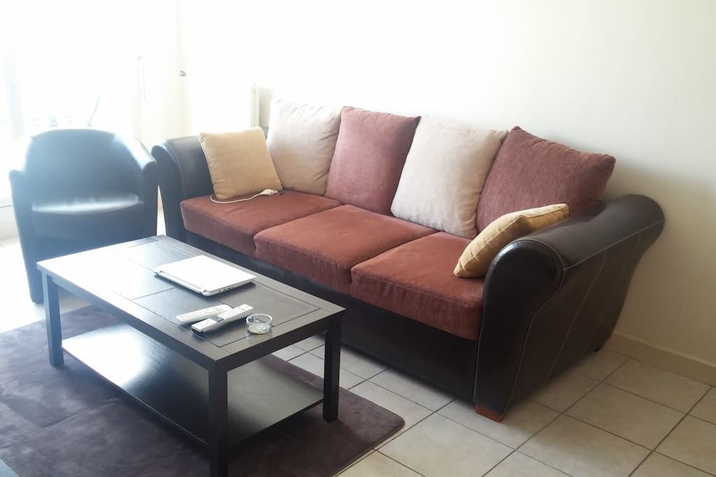 confortable couch/bed