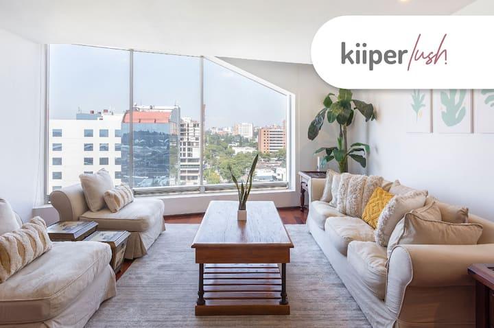 kiiper lush | Bright & Exclusive Apartment | 2 PPL