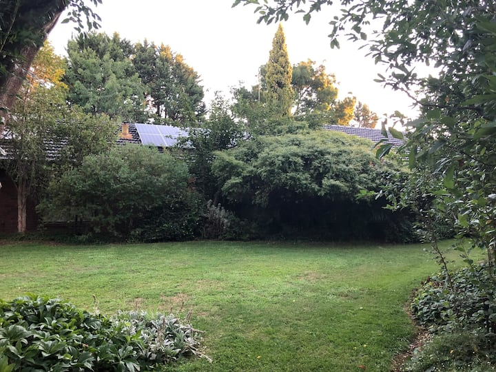 Tucked away for ultimate peace and quietness