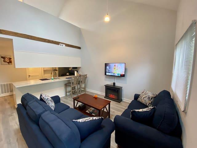 Living Room Kitchen Angle