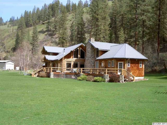 IDAHO CLEARWATER RIVER LODGE - FISHERMAN'S DREAM ! - Stites