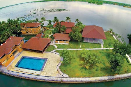 Lake Supreme- eco-friendly backwater Island resort