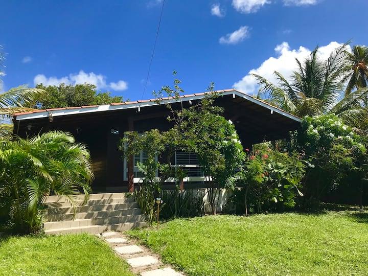 Casa Rústica em Frente ao Mar Itamaracá 3 quartos