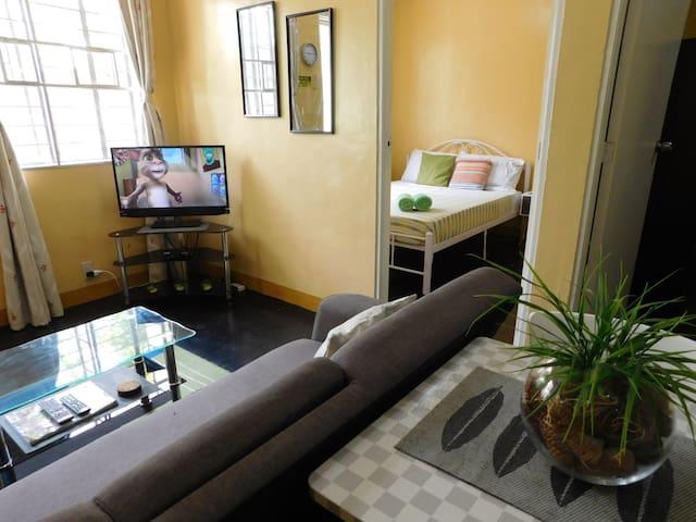 BEST VALUE 1 [Kitchen Garden 2Beds] Angeles Apart - Angeles - Apartamento