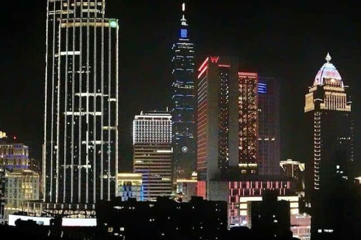 漂亮優雅2人大套房、電梯新大樓西門商圈雙捷運、購物方便