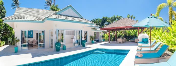 Beachfront Resort Villa Baan Khwam Rak