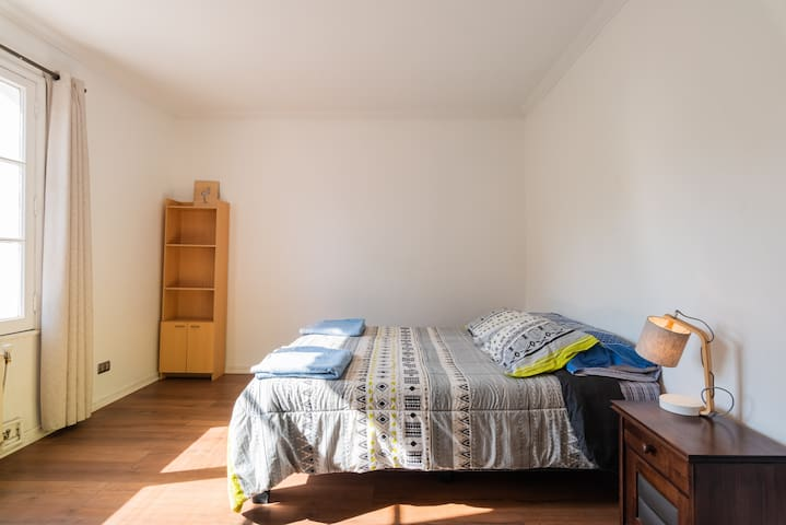 Double bed in the best location.