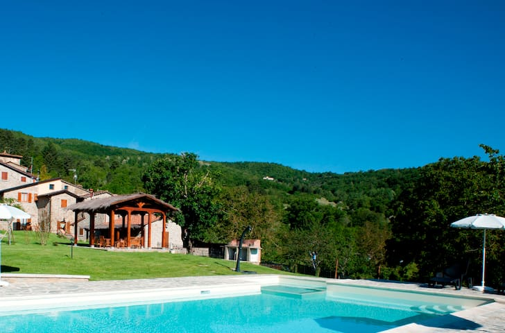 Lovely FARM with private scenic POOL near FLORENCE
