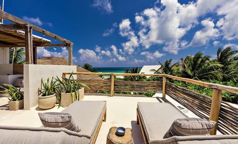 Epic Brand New 3BR Tulum Luxury Beach Villa