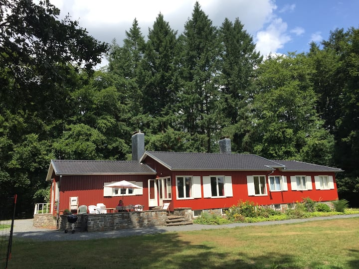 Swedish Family House, Forest & Fields, Rolley